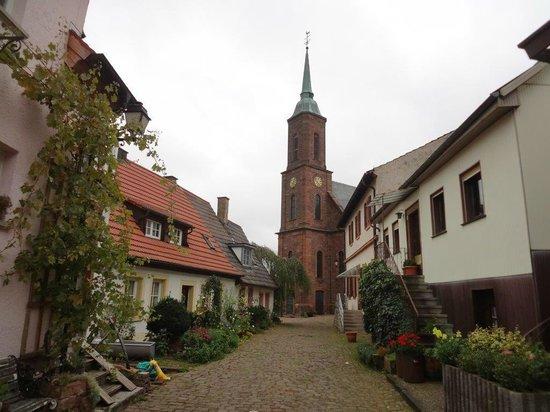Dilsberg: Eine von zwei Kirchen