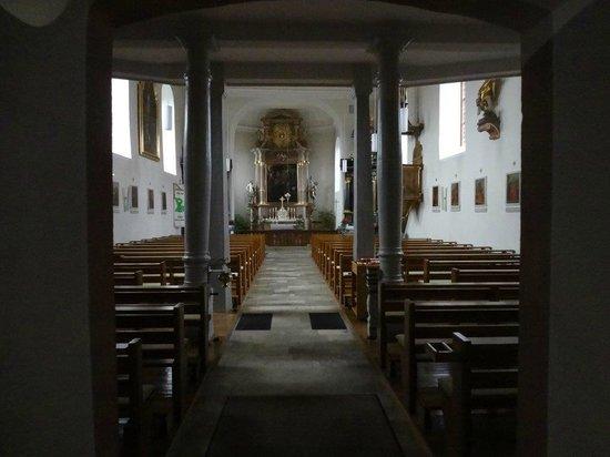 Dilsberg: Blick durch geschlossene Scheibe
