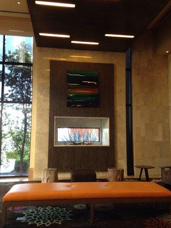 Aliante Casino + Hotel + Spa: Hotel lobby. Very modern!