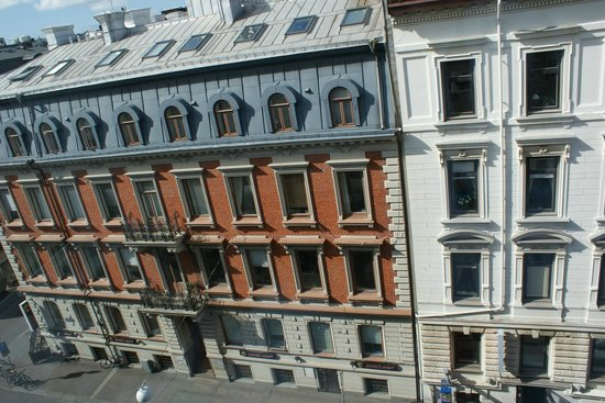 Le Mat B&B Goteborg City: view from our window