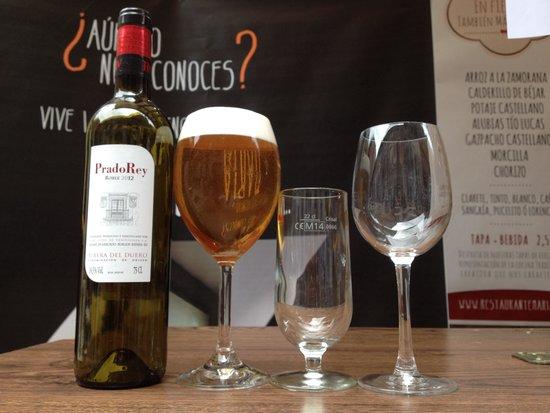 Restaurante María: Tu Caña en copa en María