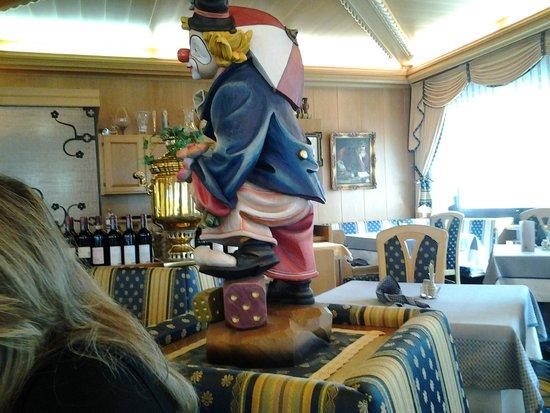 Hotel Cristallo : La sala da pranzo