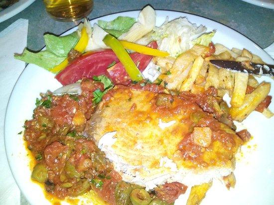 Milano Due : Perché spada alla palermitana del ristorante Il Pomodoro