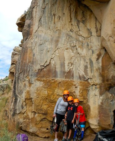 Apex Mountain School - Private Day Trips: Climbing with Apex and Sarah!