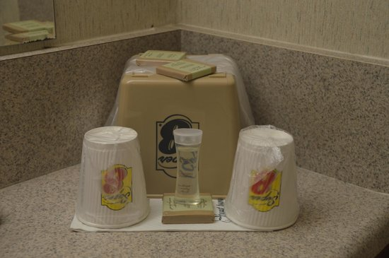 Super 8 Long Beach : toiletries