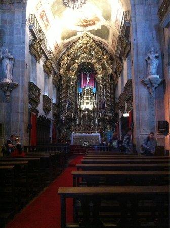 Igreja do Carmo : Inside of the Church