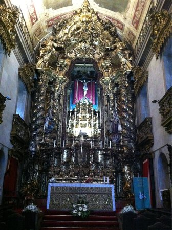 Igreja do Carmo : Main Altar