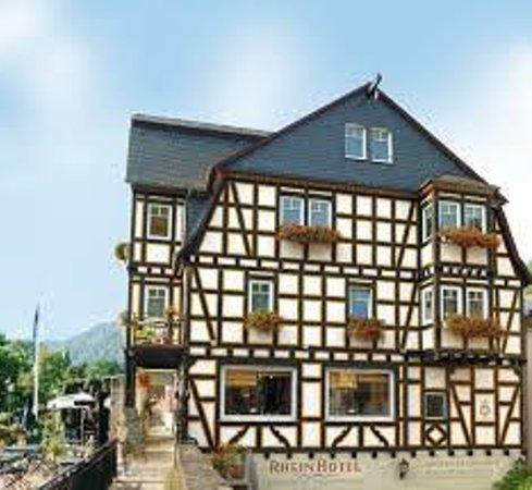 Rheinhotel: Half timber wonder