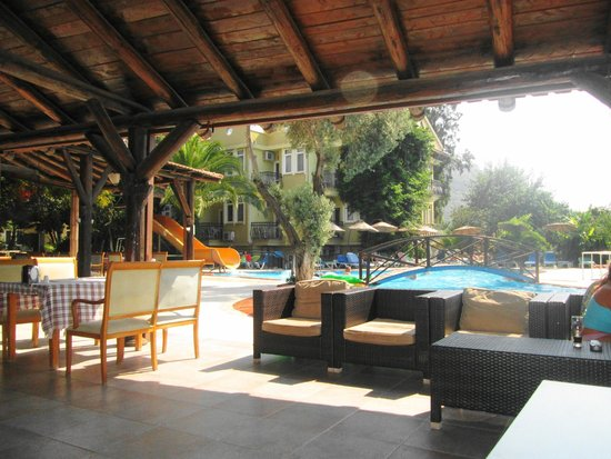 Seyir Village Hotel: View from the bar