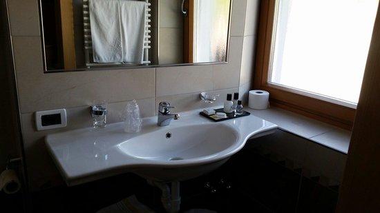 Hotel Rene: Il lavandino
