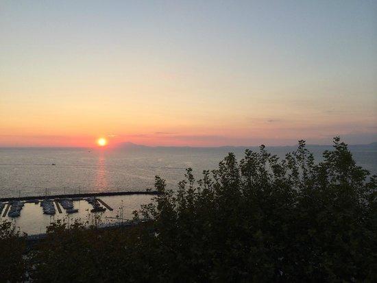 Hotel Klein Wien: sunset
