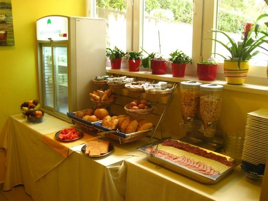 Hotel Keltika : breakfast