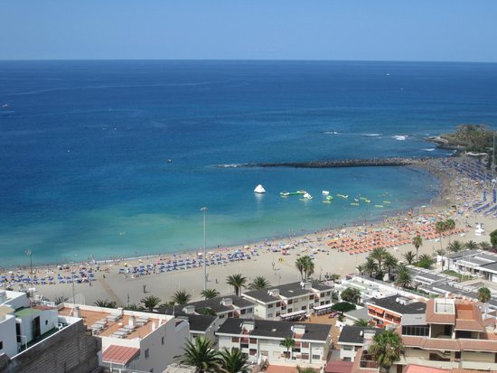 Saint George: View from the mountain across the hotel, walk down to this beach +/- 100M