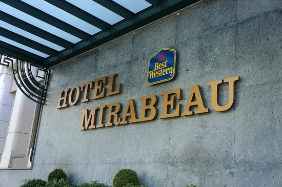 Best Western Plus Hotel Mirabeau: hotel name
