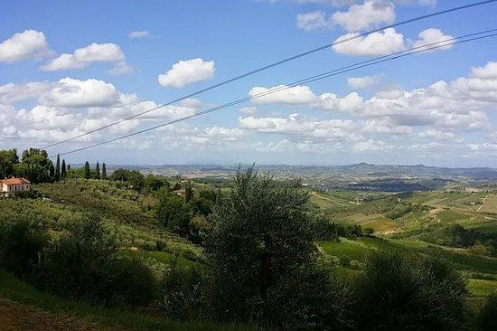 Hotel Le Renaie: Tuscan Scenery is breathtaking