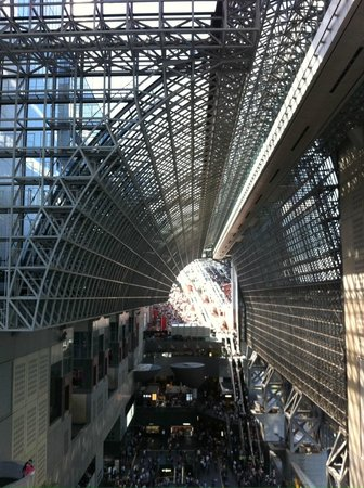 Grand Prince Hotel Kyoto: A view of Kyoto Station