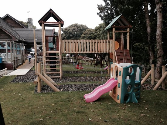 Watermouth Lodges: Play area