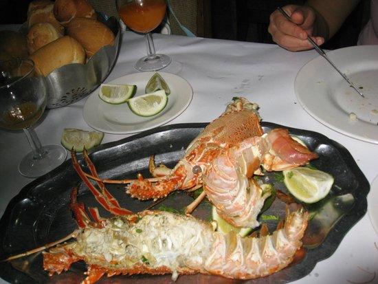 Restaurant Chez Sauveur: Langouste pas terrible !