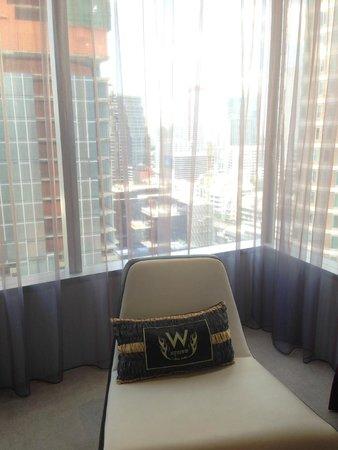 W Bangkok: room view