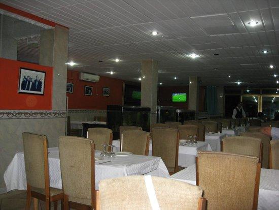 Restaurant Chez Sauveur: vue interieure 1er niveau