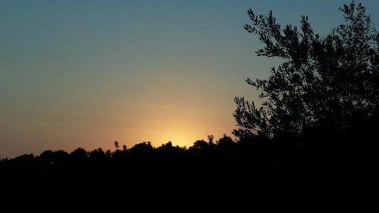 Relais Parco Cavalonga: Sunset