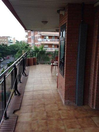 Hotel Villamarina Club Large Apartment Balcony