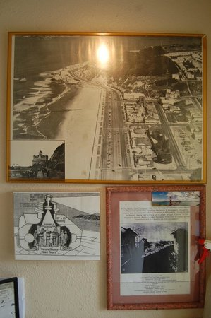 Camera Obscura : Old photo of Ocean Beach