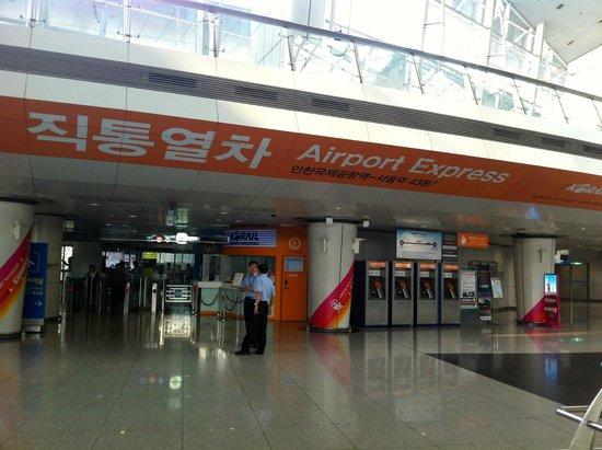 AREX (Airport Railroad Express): Accès AREX, aéroport d'Incheon, Corée du Sud