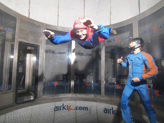 Airkix Indoor Skydiving Manchester: APB at Airkix Manchester