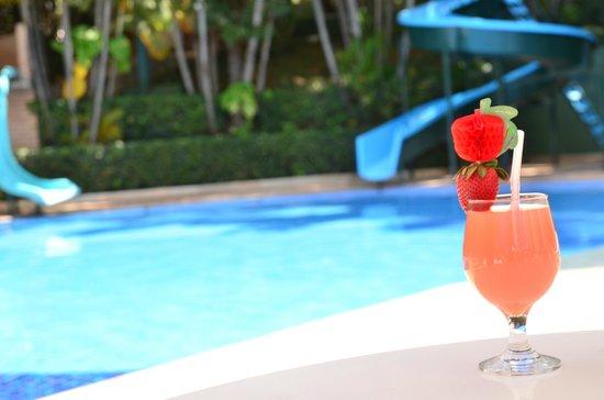 Piscina climatizada picture of hotel fazenda das for Piscina climatizada