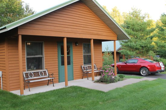 outside cabin 12 picture of woodside cottages of