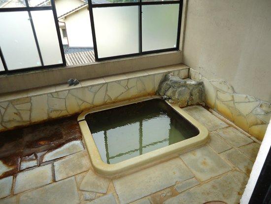Ebisuya Ryokan: 泉質の良い部屋風呂