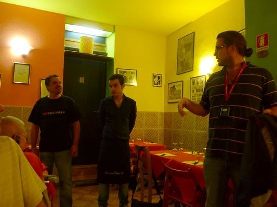 Pizza Man - Via Carlo del Prete: our guide and the owners of this great restaruant!