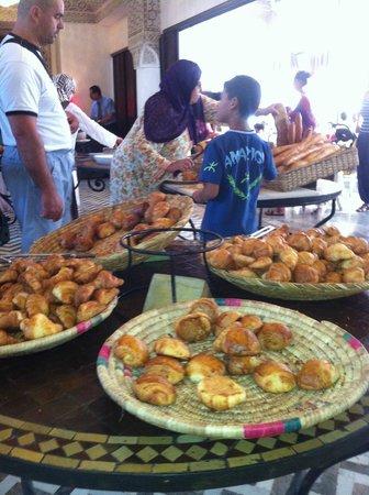 Hotel El Andalous: petit déjeuner