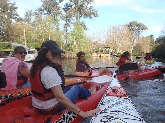 Sculls - escuela de remo y kayak