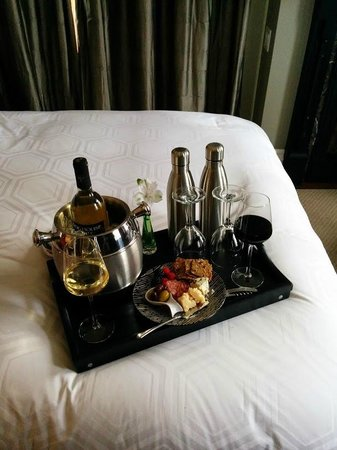 The Manse Boutique Inn & Spa: Nice welcome