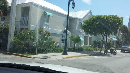 Silver Palms Inn: Chegada ao hotel