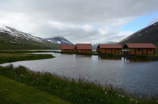 View of lake and cabins Picture of Brimnes Hotel& Cabins, Olafsfjordur TripAdvisor