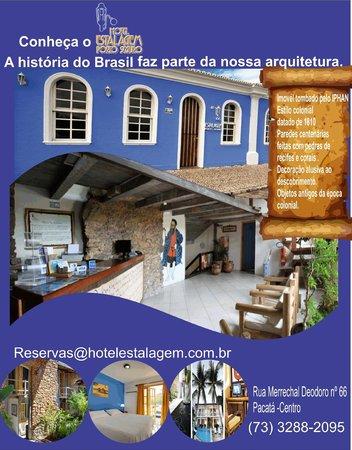Hotel Estalagem: A HISTÓRIA DO BRASIL FAZ PARTE