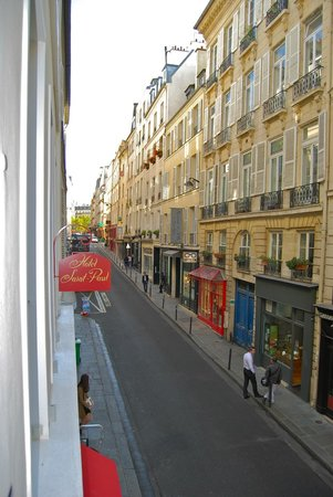 Hotel Saint Paul Rive Gauche : View from room