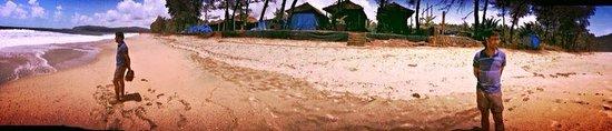 Agonda Beach : Standing alone on the white sands!
