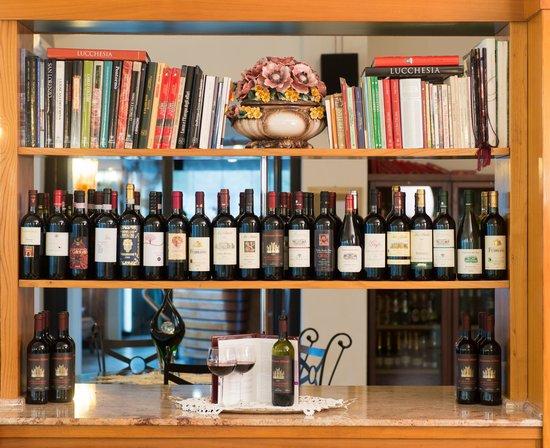 Hotel Milano : Parte della nostra selezione di vini