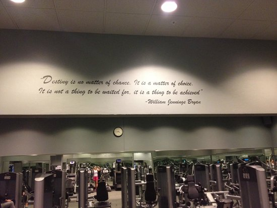 Canyon Ranch in Tucson: Circuit Training center
