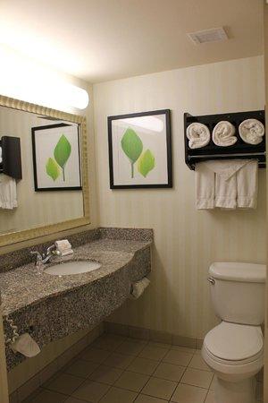La Quinta Inn & Suites Coventry/Providence : Baño