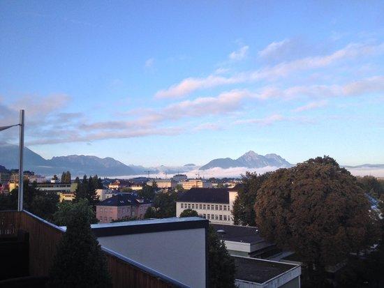 Wyndham Grand Salzburg Conference Centre: Ausblick von der Clublounge