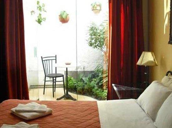 Hostal El Patio: Terrace