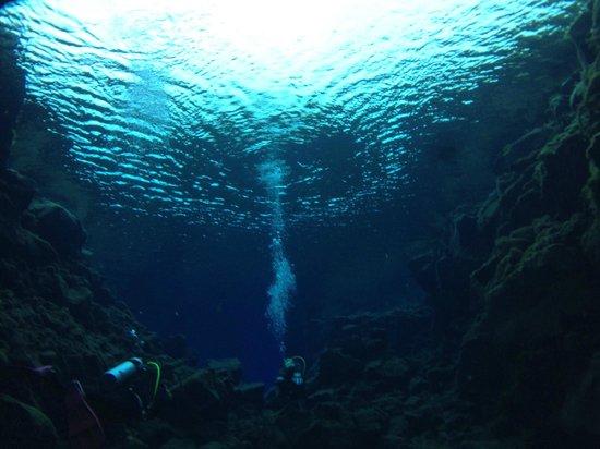Scuba Iceland : Bubbles