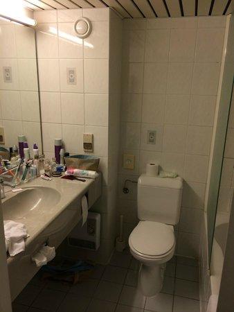 Begijnhof Hotel : najsłabszy punkt - łazienka