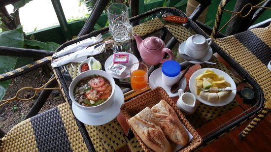 Thongbay Guesthouse: Breakfast menu 4