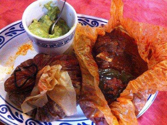 Fonda de Santa Clara: Mixiote ahogado en salsa.